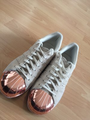 Adidas Superstar 80's metal toe rose gold
