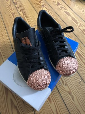 Adidas Lace-Up Sneaker black-rose-gold-coloured