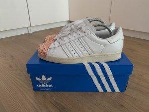 Adidas Originals Sneaker stringata bianco Pelle