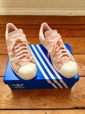 Adidas Superstar 80s blush pink/ off white