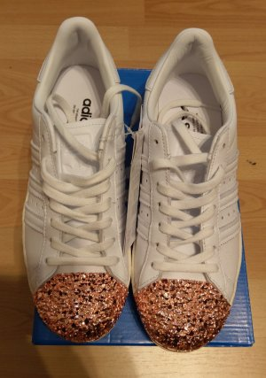 Adidas Superstar 80s Metal Toe 3D neu weiß bronze
