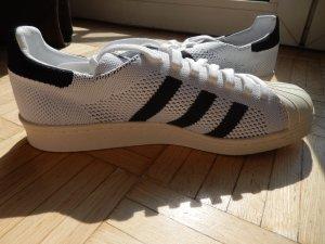Adidas Superstar 80s Primeknit (NEU) Weiß-Schwarz