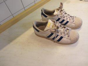 Adidas Superstar Blau-Weiß