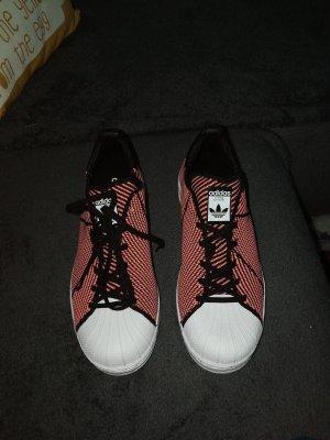 Adidas Superstar Bounce Primeknit Schuh Farbe schwarz koralle Gr. 40 - NEU!!