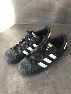 Adidas Originals Zapatilla brogue negro-blanco