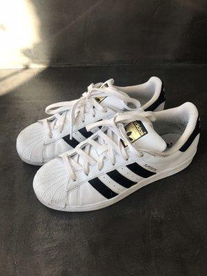 Adidas Originals Zapatilla brogue blanco-negro