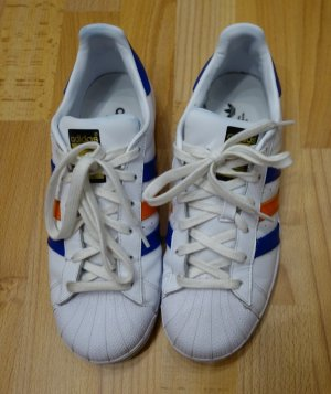 Adidas Superstar II 2 Sneakers Turnschuhe UK 6,5 (39,5/40) Retro Street Wear