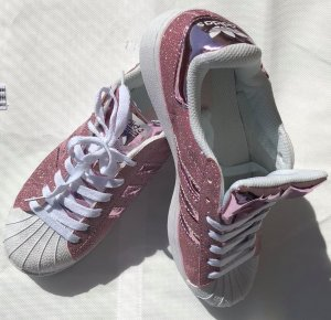 Adidas Superstar in gr 39 neu Rosa Glitzert
