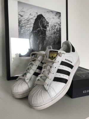 Adidas Superstar in Reptiloptik zu verkaufen