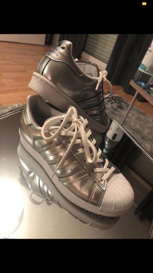 Adidas Originals Sneaker stringata argento-bianco