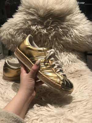 Adidas Superstar Metal Toe Gold