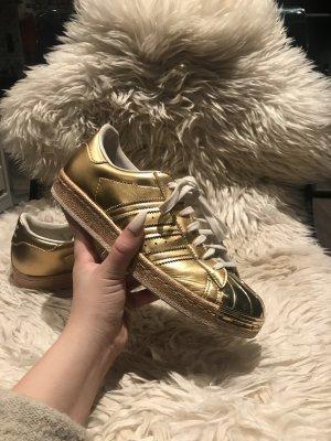 Adidas Superstar Metal Toe Gold