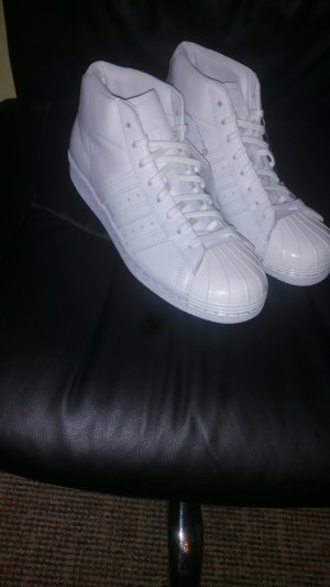 Adidas Superstar Metal Toe High NEU