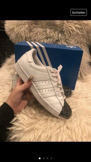 Adidas Superstar Metal Toe weiß