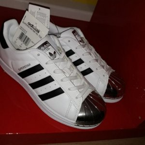 adidas superstar metall.toe 36 2/3 36.5 neu