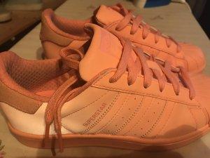 Adidas Superstar Neon Orange