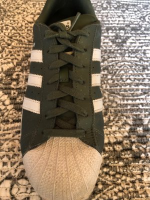 Adidas Superstar Olive/ white Limited Edition