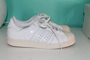 Adidas Superstar Originals 80s W Gr.37 NEU weiß Lackleder