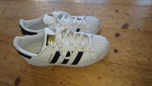 Adidas Superstar Originals black/white Größe 39 1/3