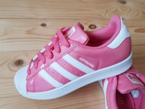 Adidas Originals Lace-Up Sneaker pink-pink imitation leather