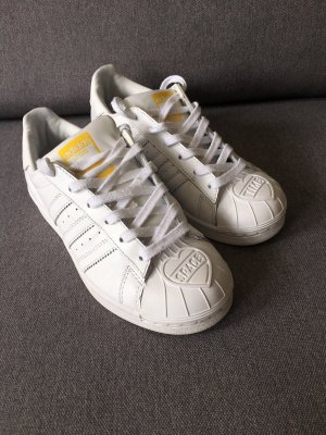 Adidas Originals Sneakers met veters wit-geel