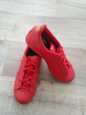 Adidas Superstar Pharrell William Rot Gr. 36 2/3