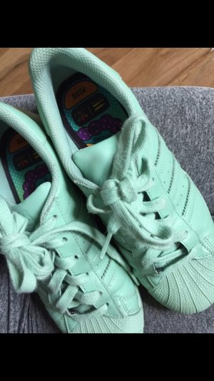 Adidas Originals Lace-Up Sneaker mint-turquoise