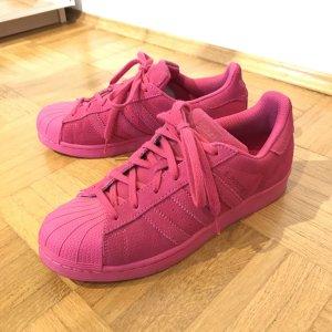 Adidas Originals Zapatilla brogue rojo frambuesa