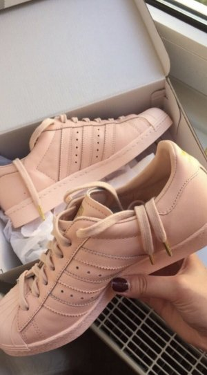 Adidas Originals Lace-Up Sneaker rose-gold-coloured-gold-colored
