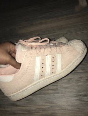 Adidas Superstar Rosa/Schlangenleder Limited Edition