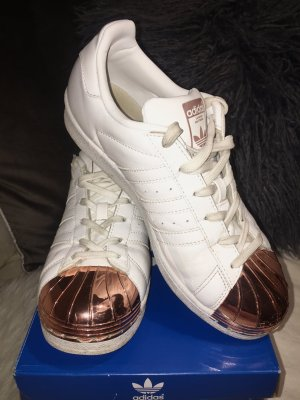 Adidas Superstar Roségold Metal Toe