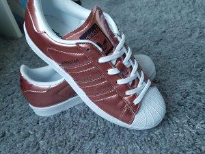 adidas Superstar rosegold weiß