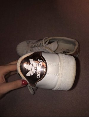 Adidas Originals Sneaker slip-on color oro rosa-bianco