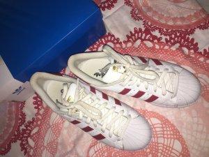 Adidas Superstar (rot/weiß)