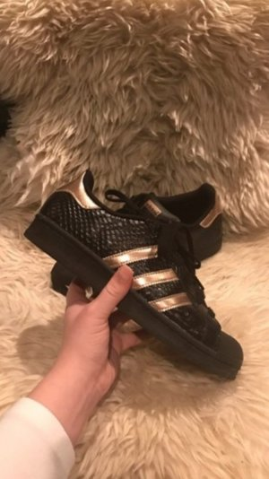 Adidas Superstar Schwarz Gold