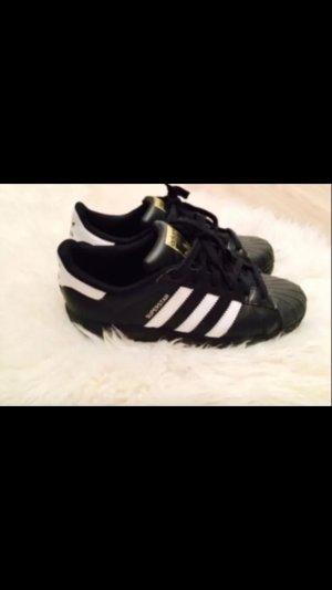 Adidas Superstar schwarz/Gold