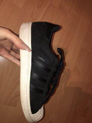 best value 24475 e67ef Adidas Superstar schwarz mit Glitzer