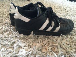 Adidas superstar schwarz weiss