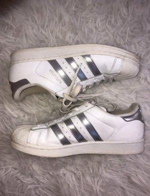 Adidas Superstar Silber