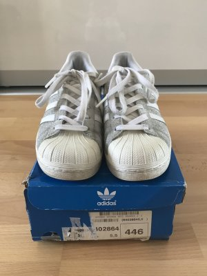 Adidas Originals Lace-Up Sneaker silver-colored