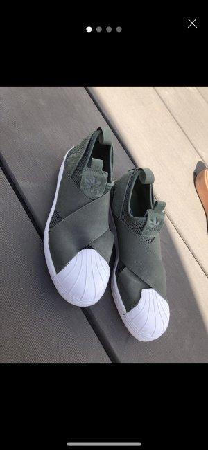 Adidas Superstar Slip on Khaki (US 6 1/2)