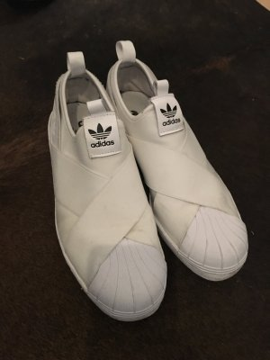 Adidas Superstar Slip on weiß 38 2/3