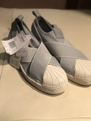 Adidas Originals Sneaker slip-on grigio chiaro-bianco