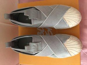 Adidas Superstar Slipper Babyblau 38
