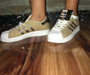 Adidas Superstar Sneacker in gr 39 Farbe Gold Neu