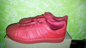 Adidas Superstar Sneaker Adicolor rot Gr 42