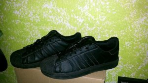 Adidas Superstar Sneaker Adicolor schwarz Gr 40