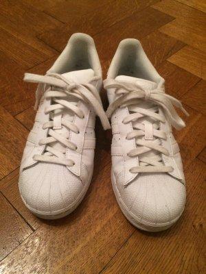 Adidas Superstar Sneaker weiß 39