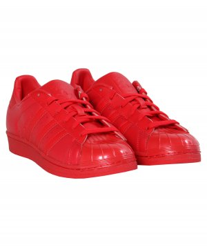 Adidas Superstar Sonderedition Gr. 41 rot NEU Sneakers Schuhe