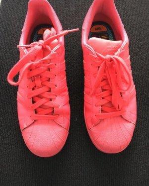 Adidas Originals Sneakers met veters rood-neonrood